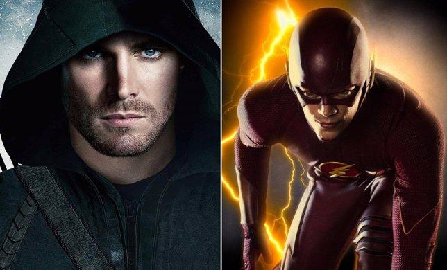 The Flash y Arrow, estreno en octubre