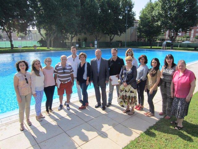 Presentación del programa de piscinas