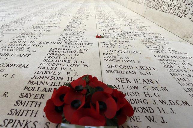 Monumento a los caídos en la I Guerra Mundial