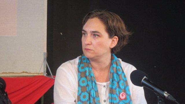 Ada  Colau, exportavoz de la PAH