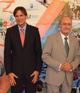 Damián Caneda y Fransico de la Torre