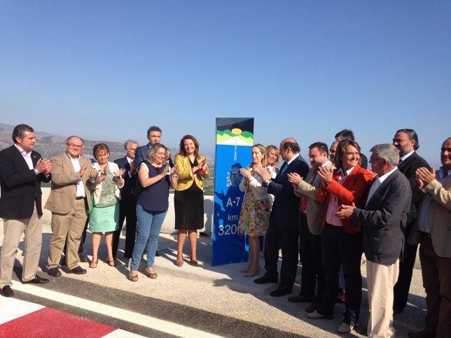 Ana Pastor inaugura dos nuevos tramos de la A-7