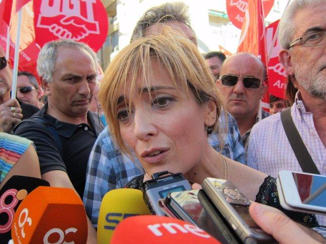 Carmen Castilla, secretaria general de UGT-A