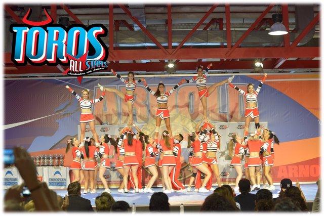 España, por tercer año consecutivo en los Europeos de Cheerleaders