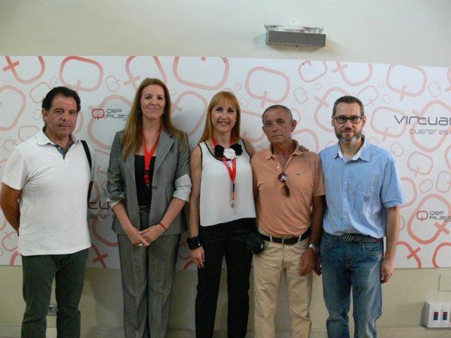 Presentación en Valencia de la plataforma 'Virtual QEP'.