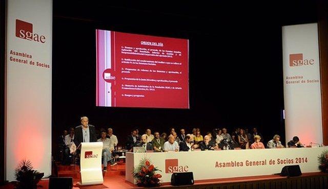 Asamblea General Ordinaria de la SGAE