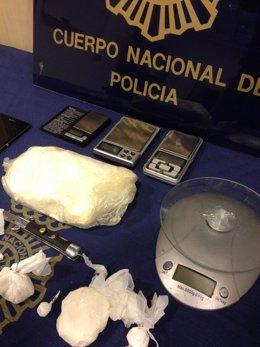 Droga incautada por la Policía Nacional en la operación