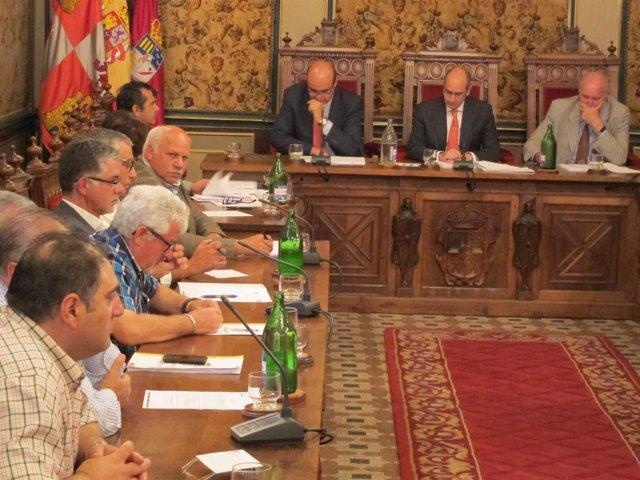Pleno ordinario de la Diputación de Salamanca