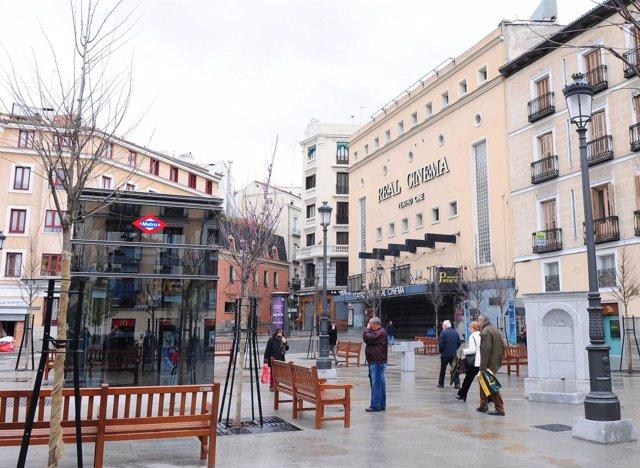 Plaza de Ópera, plaza de Isabel II en Madrid
