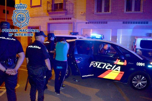 Detenido Policía Nacional