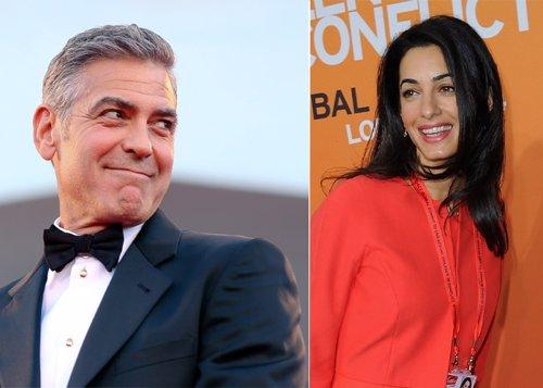 George Clooney boda Italia Lago Como Amal novia matrimonio