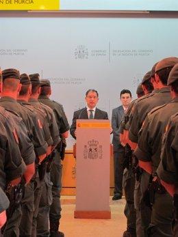 Bascuñana, presenta a los nuevos guardias civiles