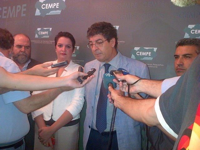 El Vicepresidente De La Junta, Diego Valderas.