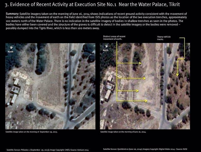 Imágenes por satélite de Tikrit