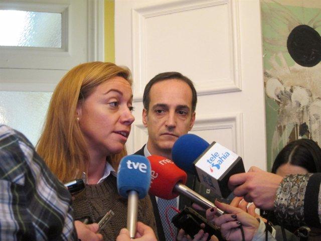 Cristina Mazas Y Samuel Ruiz
