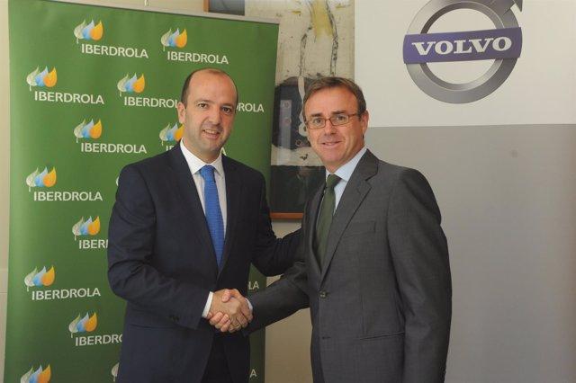 Acuerdo entre Volvo España e Iberdrola