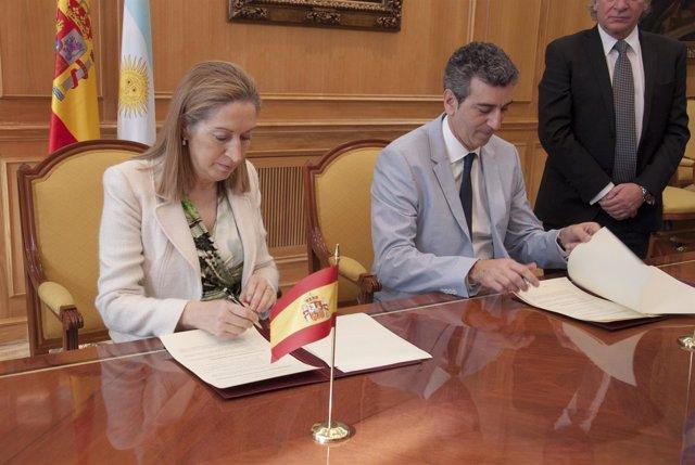 Acuerdo de Fomento y Argentina