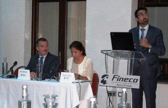 Los responsables de Fineco en Córdoba