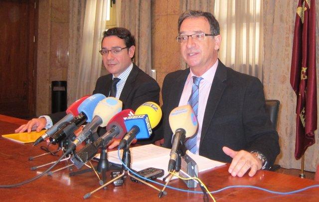 José Gabriel Ruiz y Joaquín Bascuñana