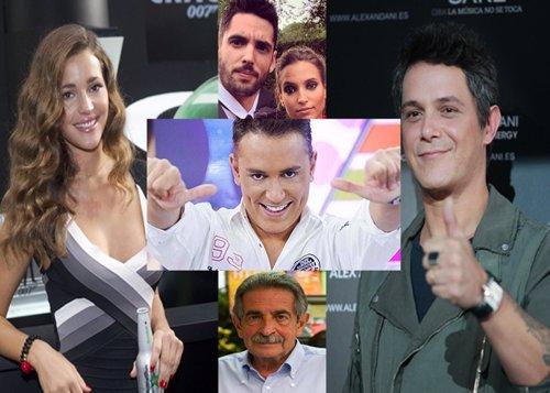 Alejandro Sanz, Revilla, Malena Costa, Kiko Hernández... con Frank Cuesta