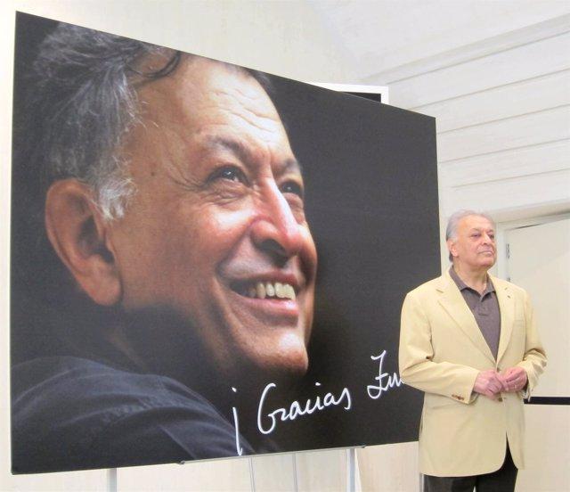 Zubin Mehta en su despedida del PAlau de les Arts