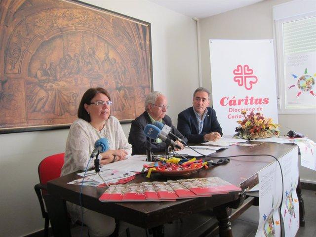 Cáritas De Coria-Cáceres Presenta La Memoria De 2013