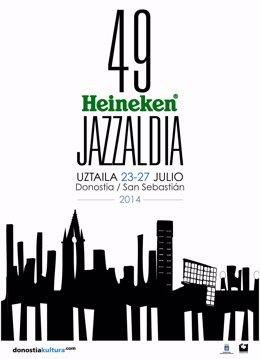 Cartel del 49 Heineken Jazzaldia.