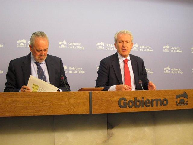 Del Río y Nieto en el Consejo de Gobierno