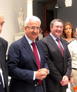 Manuel Jiménez Barrios, este viernes