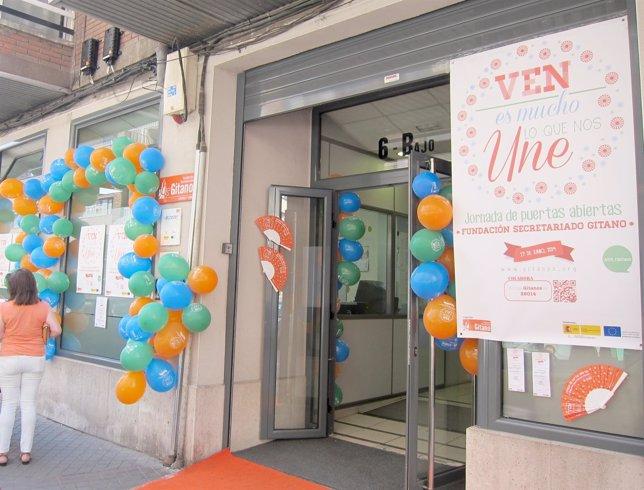 Jornada de puertas abiertas en la sede del Secretariado Gitano