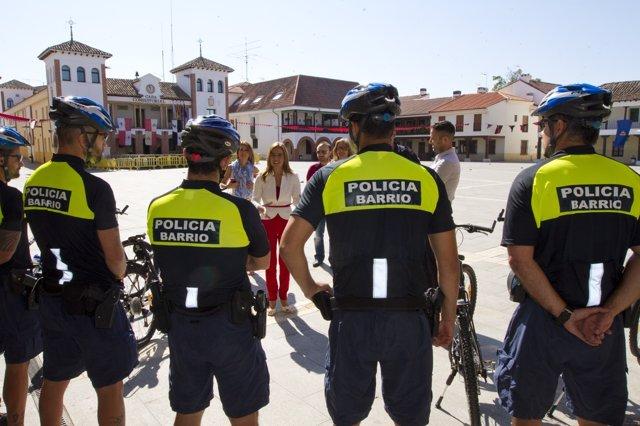 Policía de barrio de Pinto