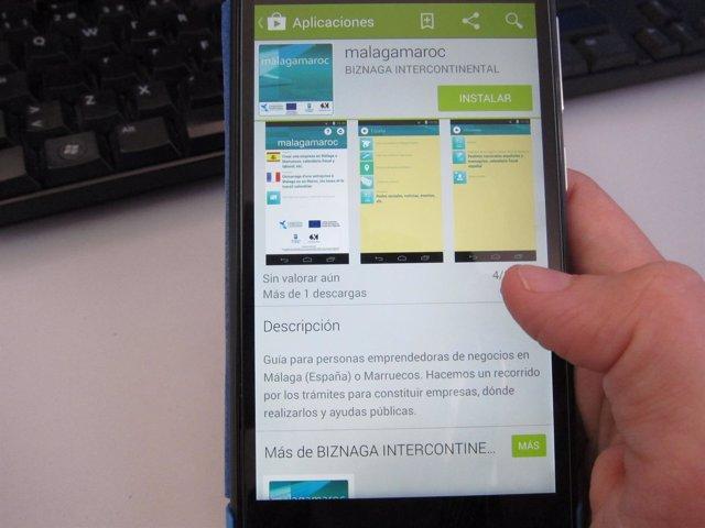 App malagamaroc creada por Promalaga