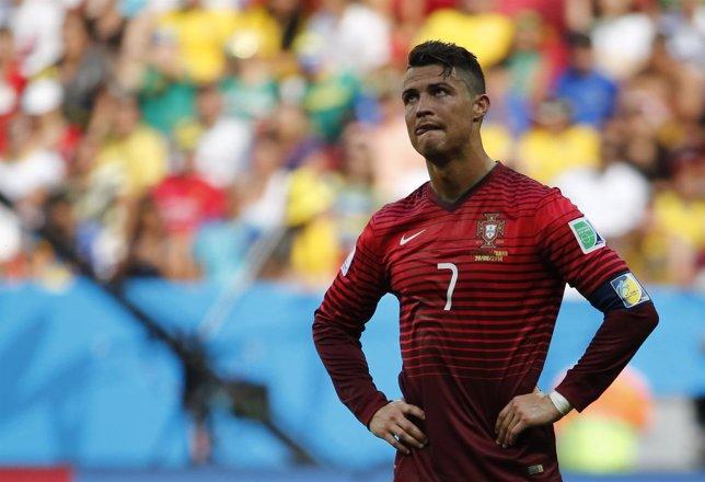 Cristiano Ronaldo en el Mundial de Brasil