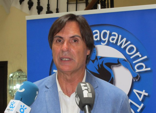 El concejal de Turismo, Cultura y Deporte, Damián Caneda