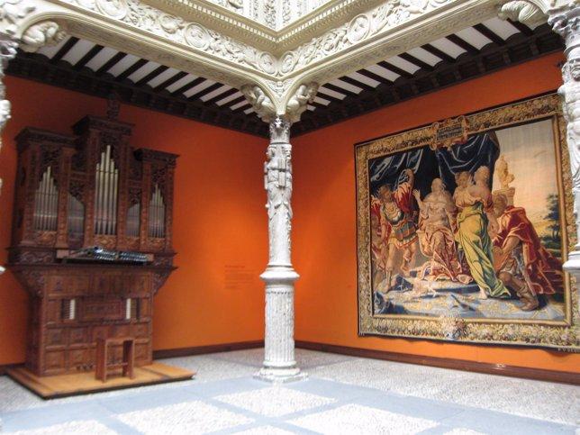 Órgano histórico de Ibercaja Patio de la Infanta