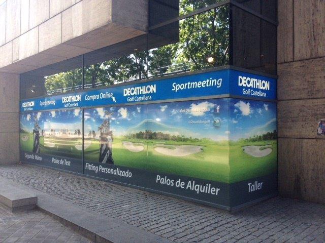 Fachada Decathlon Golf Castellana