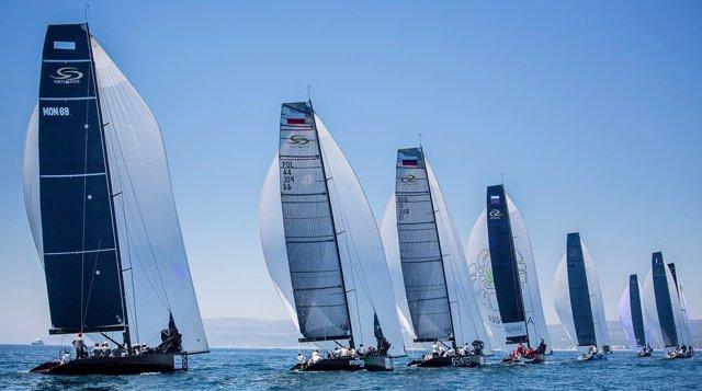 La flota en la RC44 Puerto Sotogrande Cup