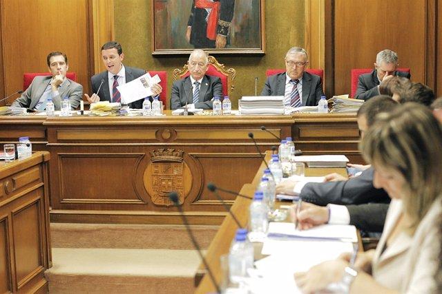 Pleno en la Diputación Provincial de Almería