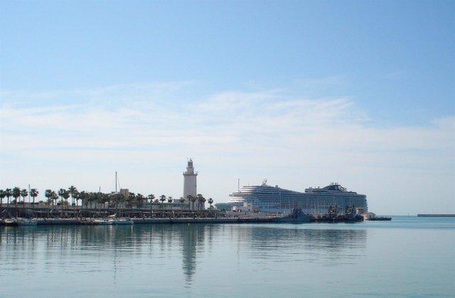Imagen puerto de málaga