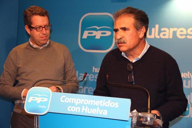 El presidente del PP de Niebla, Antonio Fernández Regidor.