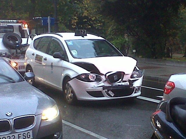 Accidente de tráfico en Oviedo