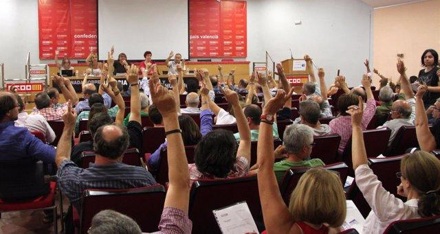 Votación del informe de Molina (CCOO PV)