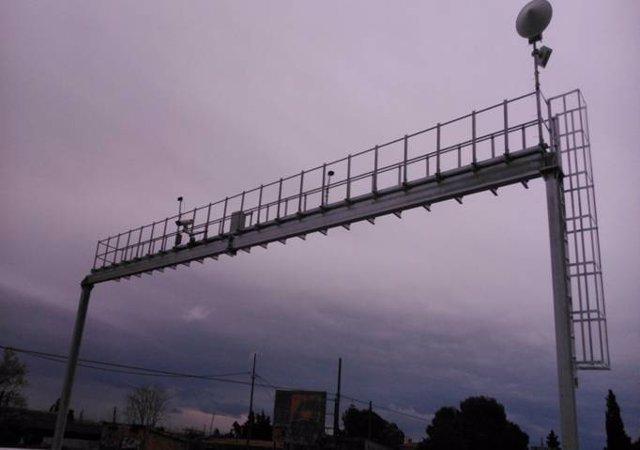 Radar por tramo en Sant Carles de la Ràpita
