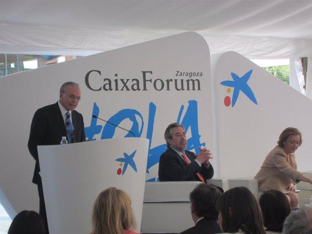 El presidente de 'la Caixa' y de la Obra Social de la entidad, Isidro Fainé.
