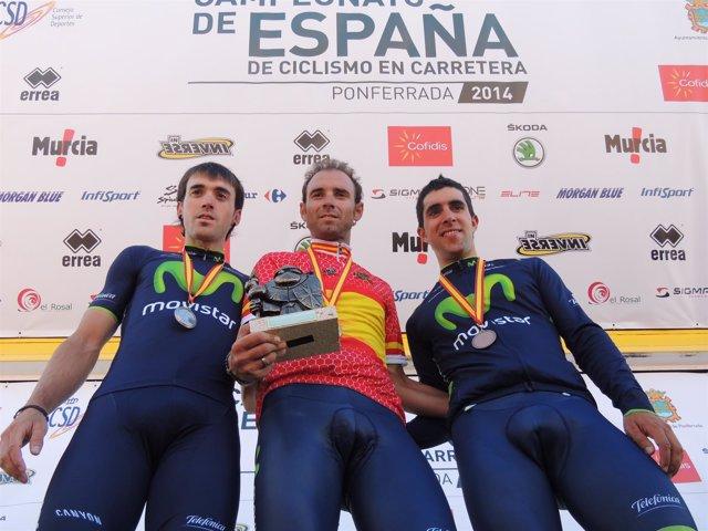 Valverde, campeón de España contrarreloj