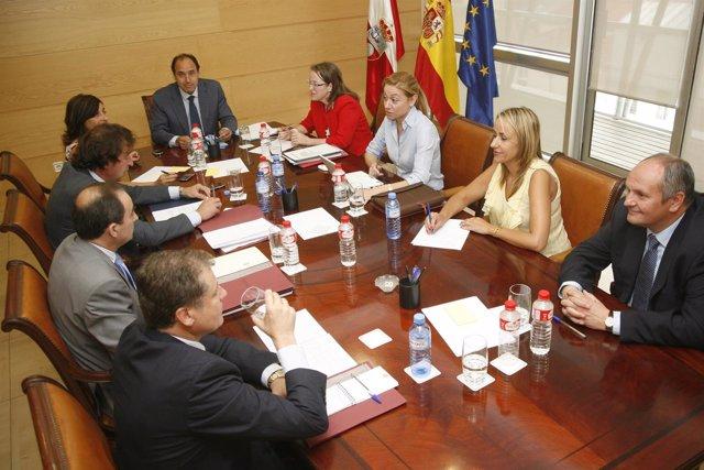 Reunión Del Consejo De Gobierno De Cantabria