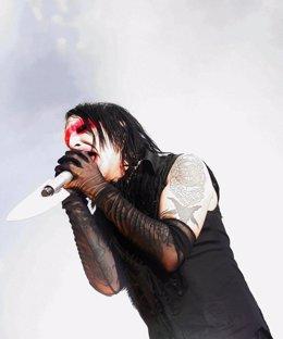 El rockero Marilyn Manson