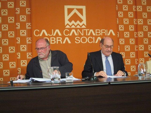 Puente y Zúñiga, secretario y presidente de Caja Cantabria