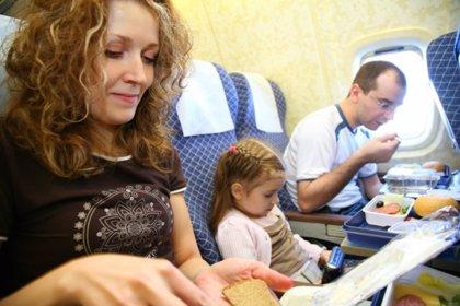 Cuidar la dieta también en avión