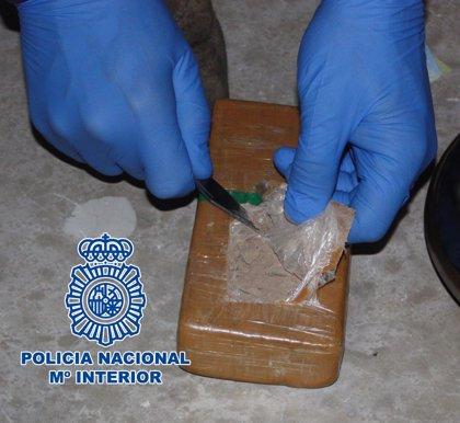 Policía Nacional se incauta en Murcia de más de 11 kilos de heroína
